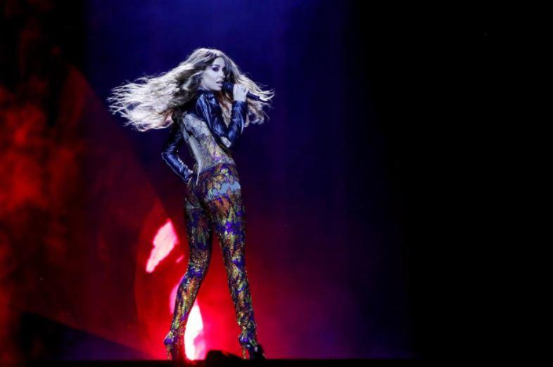 Азербайджанская эстрадная певица  Айсель Мамедова непрошла вфинал «Евровидения»