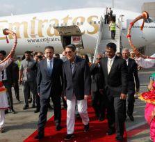 Президент Кипра проведет эту неделю в Индии