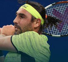 Багдатис неудачно упал в финале турнира в Китае