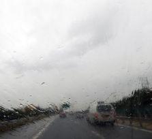 Дорожная полиция Кипра: будьте осторожнее на хайвэе во время ливня и града!