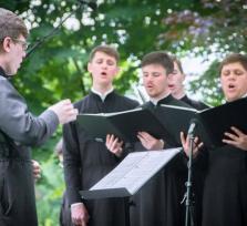 Концерт хора студентов Санкт-Петербургской Духовной Академии