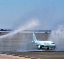 Cyprus Airways: первый рейс из Петербурга (фото и видео)