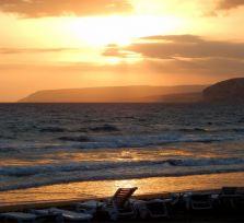 Пляж Куриум: воскресный вечер (фото)