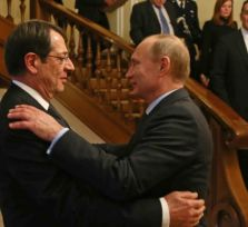 Анастасиадис очень хочет встретиться с Путиным. Или хотя бы с Медведевым