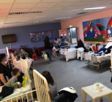 На Кипре свирепствует грипп A: детское отделение Центральной больницы Лимассола переполнено