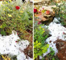 На Кипре выпал первый снег