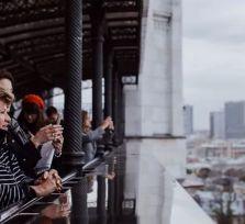 Первая леди Кипра посмотрела на Кремль из храма Христа Спасителя
