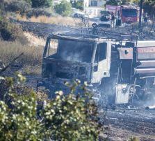 На Кипре потушены два больших пожара (фото)