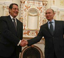 Анастасиадис пригласил Путина на Кипр