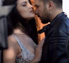 Таджикский певец и «Вице-мисс Украины» снялись на Кипре в страстном клипе (видео)