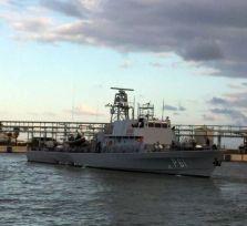 В Ларнаку прибыл первый патрульный корабль израильской постройки
