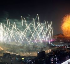 В Пхёнчхане открылась зимняя Олимпиада (12 фото)