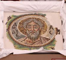На Кипр возвращена мозаика апостола Андрея