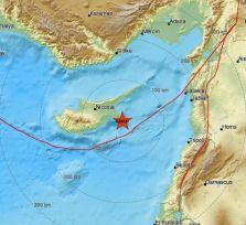 Суббота в Айя-Напе началась с землетрясения