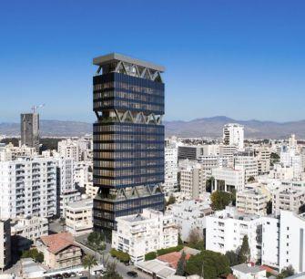 Для одного из самых богатых израильтян в центре Никосии строят 20-этажку