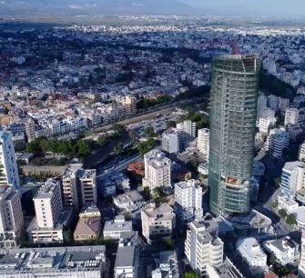Небоскреб 360 вырос до 135 метров (видео из Никосии)