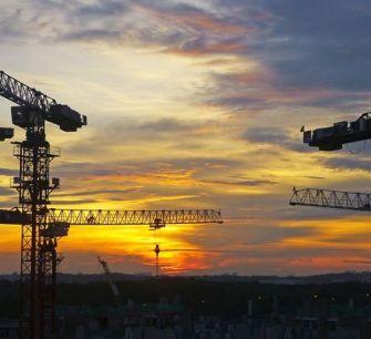 Разрешения на строительство: лидируют крупные дорогостоящие объекты