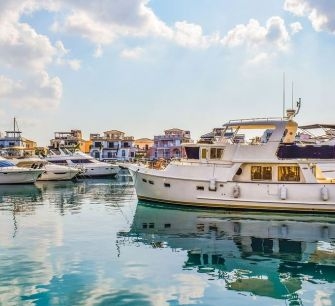 В марину Паралимни вместятся 300 яхт