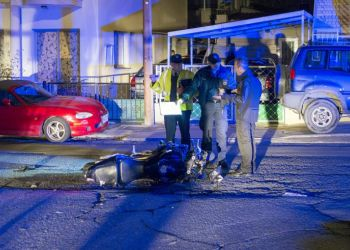 ЧП в Лимассоле: 17-летний мотоциклист сбил женщину