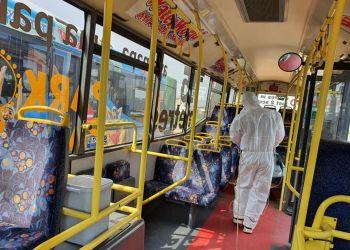 Из Китая на Кипр отправлены 200 автобусов со встроенной системой дезинфекции