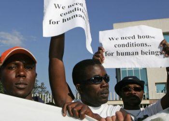 Кандидаты в беженцы из Африки: где найти жилье за 50 евро в месяц?!