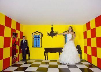 Оптические иллюзии: комната Эймса в Старом порту Лимассола