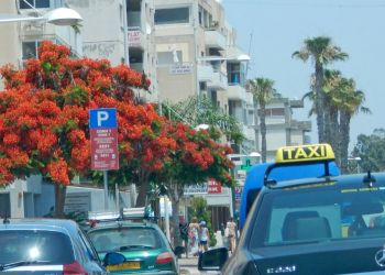 По Кипру на такси