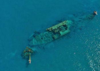 «Три звезды»: кораблекрушение у берегов полуострова Акротири (видео)