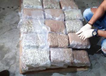 В Ипсонас найден контейнер со 100 кг марихуаны