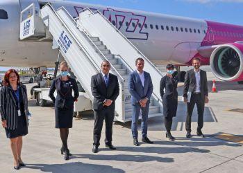 В июле Wizz Air начнет летать из Ларнаки в 11 городов Европы. Цена билета — от 24,99 евро